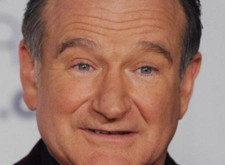 Il volto di Robin Williams
