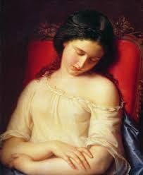 La donna dormiente tra parole e dipinti