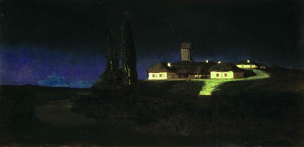 Kuindzhi_Ukrainian_night_1876