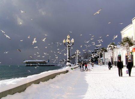 Una sera d'inverno a Yalta
