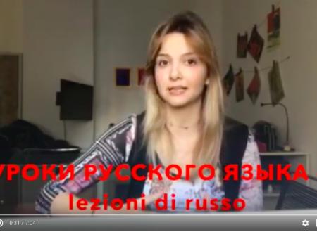 Lezioni di russo gratis su YouTube (novità!)